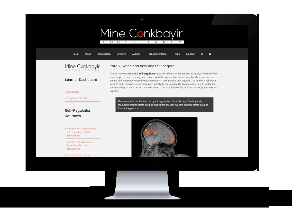 Mine Conkbayir online e-learning programme