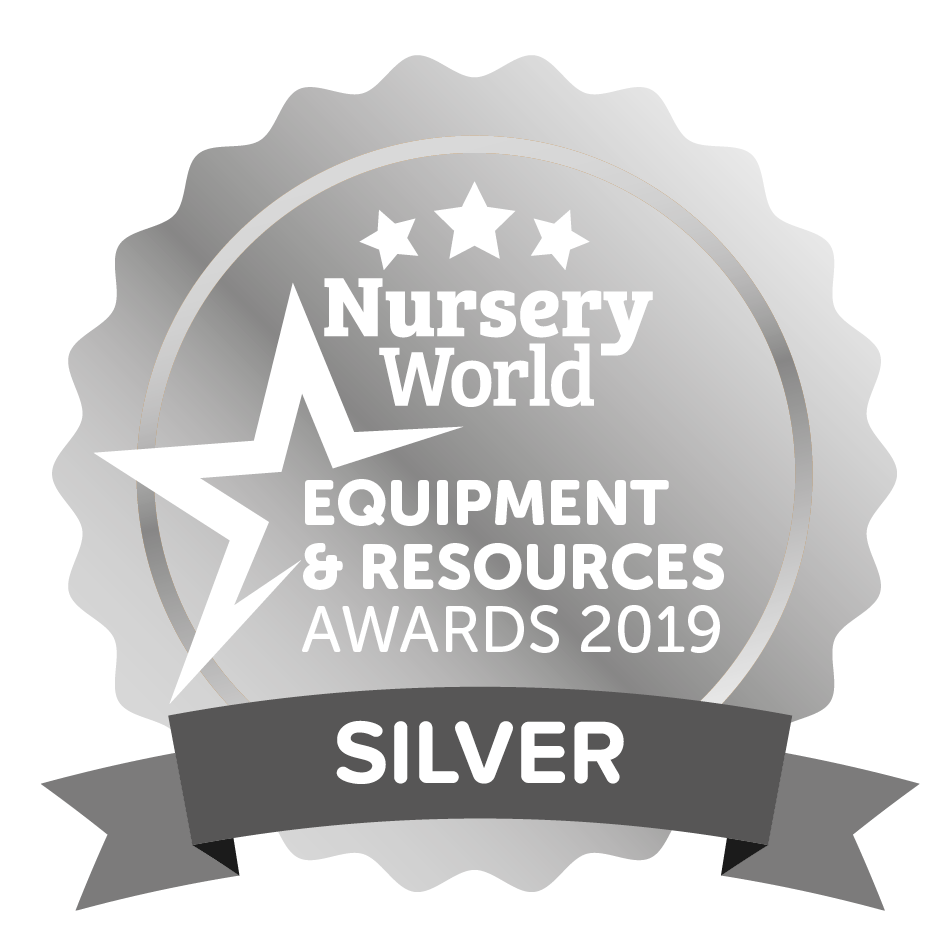 Nursery World Equipment and Resources Awards 2019 Silver Medal